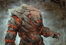 Fantasy : Creature : Golem