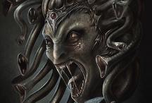 Fantasy : Creature : Medusa