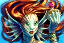 Fantasy : Creature : Merfolk : Female