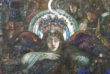 Gustave Moreau / Gustave Moreau, mon peintre préféré, et son musée où j'adore passer un moment pour m'évader.