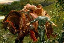 Préraphaélites / Un de mes mouvements de peinture préféré, des tableaux magnifiques et colorés qui permettent de s'évader.