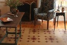 Floorcloths / by Hamilton House