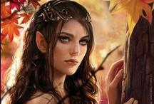 Fantasy : Creature : Elf : Female