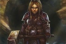 Fantasy : Creature : Dwarf : Female
