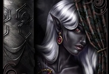 Fantasy : Creature : Drow : Female