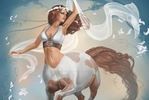 Fantasy : Creature : Centaur : Female