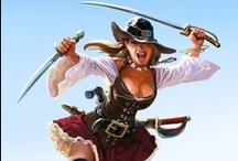 Fantasy : People : Pirate : Female