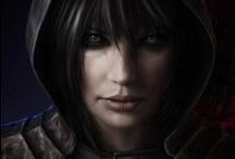 Fantasy : People : Villain : Female