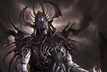 Fantasy : People : Villain : Male