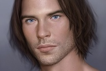 Fantasy : Portrait : Brown Hair : Male