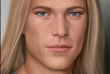 Fantasy : Portrait : Blond Hair : Male