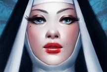 Fantasy : People : Priest : Female