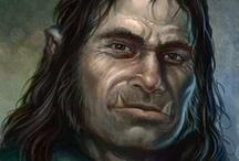Fantasy : Creature : Half-Orc : Male