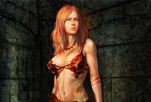 Fantasy : People : Savage : Female