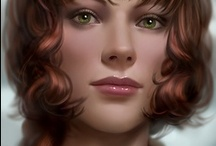 Fantasy : Portrait : Brown Hair : Female