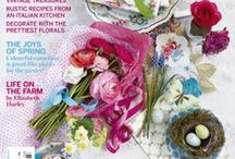 Country Living UK 2013 covers