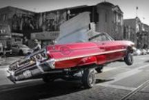 Sunday Cruising - San Francisco Lowriders / West Coast Lowriders cruising in San Francisco, CA.