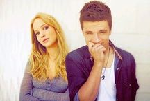Jennifer and Josh / Hunger games and funny things they've said!  / by Jacey Dean