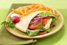 Healthy Lunch Ideas /  Here's some great lunch ideas to keep your lunches delicious and healthy!
