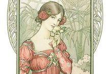 Art Nouveau / Art Nouveau : architecture, mobilier, bijoux, vêtements, etc.