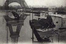 """L'énigme de Paris / Sources d'inspiration pour une de mes nouvelles, """"l'énigme de Paris"""", qui a pour cadre Besançon et Paris au moment de la crue de 1910"""