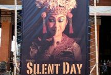 Nyepi Day - Bali Silence Day / Nyepi Day or Bali Silence Day is a break from the usual thing, even though only for 1 day and 1 night. The sound of nature is only what can you hear. No machines, No vehicles passing by and a deserted street. It is just silence.