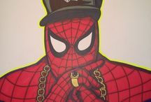 Hip-hop & Comics Mashup Drawings / I like to mix my two favorite universes together