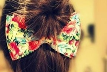 Girly Things. / Things girls cant resist.. Hair, make-up, nails....... ;)