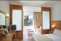 4 star hotel in Corfu, Greece, Louis Corcyra Beach / Shimmering views of the Mediterranean Sea, variety of dining options and a colored of activities await you at this beautiful, 4 star hotel in Corfu Island, Louis Corcyra Beach Hotel. Situated in Gouvia bay and surrounded by superb scented gardens this 4 star all inclusive hotel in Corfu is ideal for your summer holidays. / by Louis Hotels