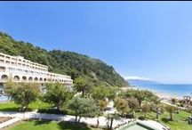 4 star Corfu hotel, Greece, lti Louis Grand Hotel / Discover one of Corfu's most inviting escapes at the all inclusive, 4 star Corfu hotel, lti Louis Grand Hotel. The combination of the verdant slope, the prize-winning golden beach and the lonian's intoxicating colors will leave you dazzled. / by Louis Hotels