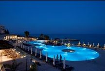 The Royal Apollonia Hotel in Limassol Cyprus / Discover the year round pampering atThe Royal Apollonia Beach, 5 star Hotel in Limassol. Set amidst flowering cactus and framed against the glittering Mediterranean Sea this 5 star hotel in Limassol stretches out its effortless charm and traditional Cypriot hospitality. / by Louis Hotels