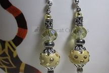 EARRINGS / Custom designed to match customers' outfits and for celebrations and holidays! / by Kraftycat Jewelry & Creations