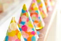 party time / lots of pretty DIY decorations for your next event