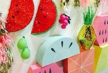 Piñata party / piñatas to craft for