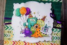 Birthday Cards / Geburtstagskarten