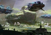 Concept Art & Sci-Fi