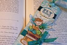 Tags / Anhänger / Tags, Bookmarks, Lesezeichen, Anhänger, crafted, paper, Papier, gebastelt