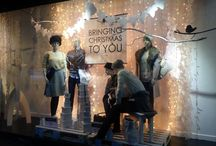 Beales Of Bolton VM. / Images of the window displays and visual sites myself and Lauren Warburton have created - The Visual Merchandising team at Beales of Bolton.