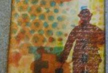 layered stencilling