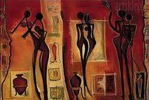 Afryka , Egzotyka / Stylizacja w stylu afrykańskim. Wnętrza, tkaniny, detale wystroju, odzież.... ogólnie klimat stylu afrykańskiego - dla inspiracji.