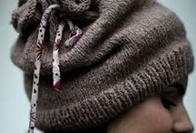 čepice / pletené, háčkované čepice