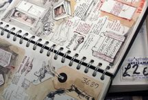 Sketchbooks / Art and mixed media