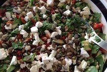 Salat // Salad / Sundt, mættende, og godt