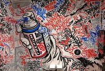 GRAFFITI / THE STREET S  NED MORE  ART
