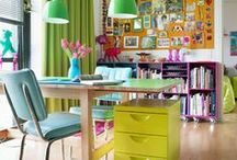 creative offices / creative studio's, home offices and craft spaces