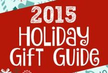 Holiday Gift Guide 2015 / Holiday Gift Guide 2015