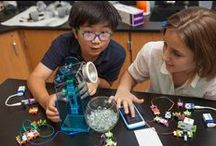 STEM/ STEAM for School / Any teacher can jump on the STEAM bandwagon with littleBits. Lesson plans, project ideas, and fun ways to turn your students into inventors. Let littleBits help you unleash creativity and technology in your classroom.