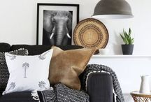 Tribal trend - don't lock horns! / Tribal is the trend you need to know about. Here are the colours, items and essentials to buy for your home. Bring Tribal back but not the animals!