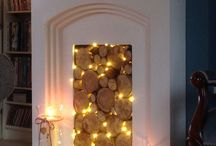 Fireplaces - Traditional or not / Whether you want to light a fire and sit round it with friends under a blanket or just decorate it beautifully all year round. Here are some great pins for you to get inspiration from for your home.