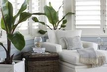 Colonial Chic / Colonial Chic a trend that can go to interiors and fashion. But let's just stick with Interiors for now. It's makes us feel as if we are on vacation. Here are some ideas for your home decor to become chic.